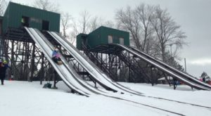 You Haven't Lived Until You've Experienced This Buffalo Park In The Wintertime