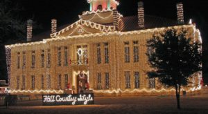 This Small Town Near Austin Becomes a Whimsical Christmas Village Every Year