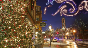 8 Main Streets Surrounding Boston That Are Pure Magic During Christmastime