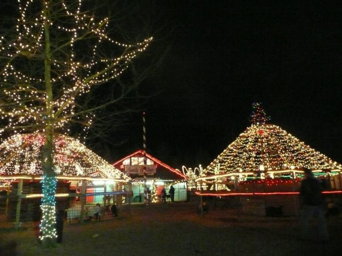 plan to spend 2 3 hours if youre going to get out and walk around before or after the drive through holiday lights safari