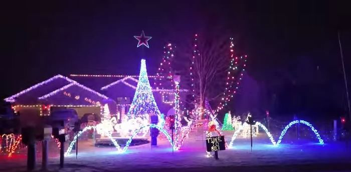 Mellem Family Christmas Light Display - Andover - The Beautiful Christmas Lights Road Trip To Take In Minneapolis