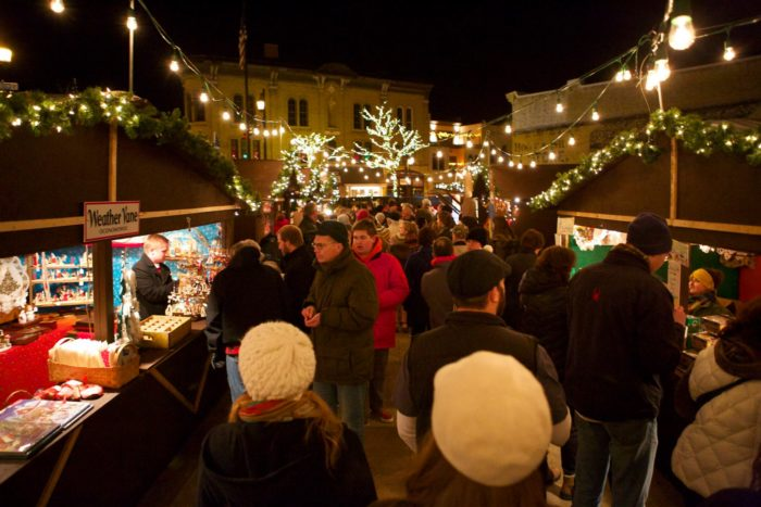 youll love wandering the outdoor stalls and browsing the goods while feeling like youve traveled far away from home to celebrate a magical holiday - Oconomowoc German Christmas Market