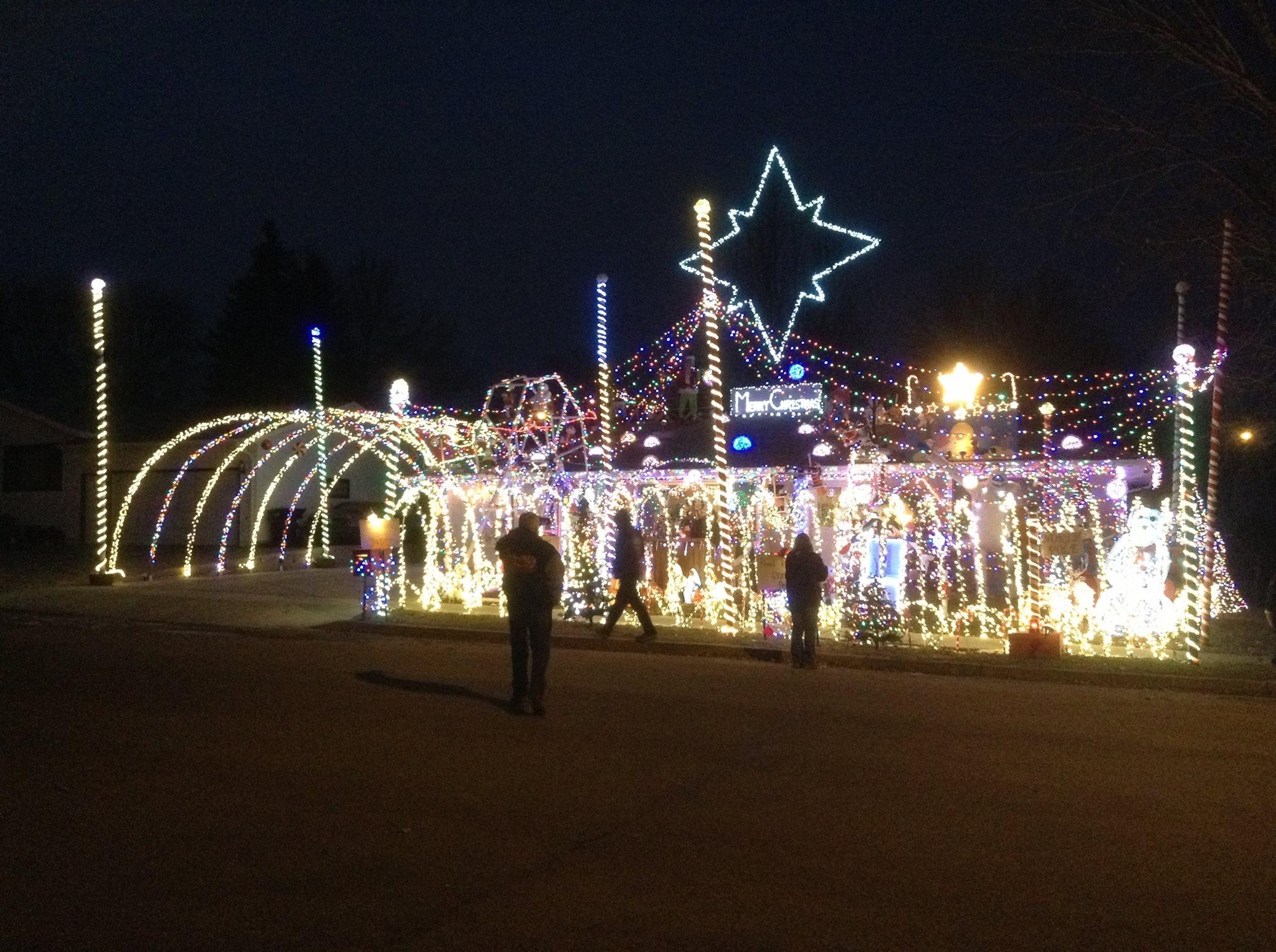 The Chmielewski S Christmas Corner Is A Christmas Display