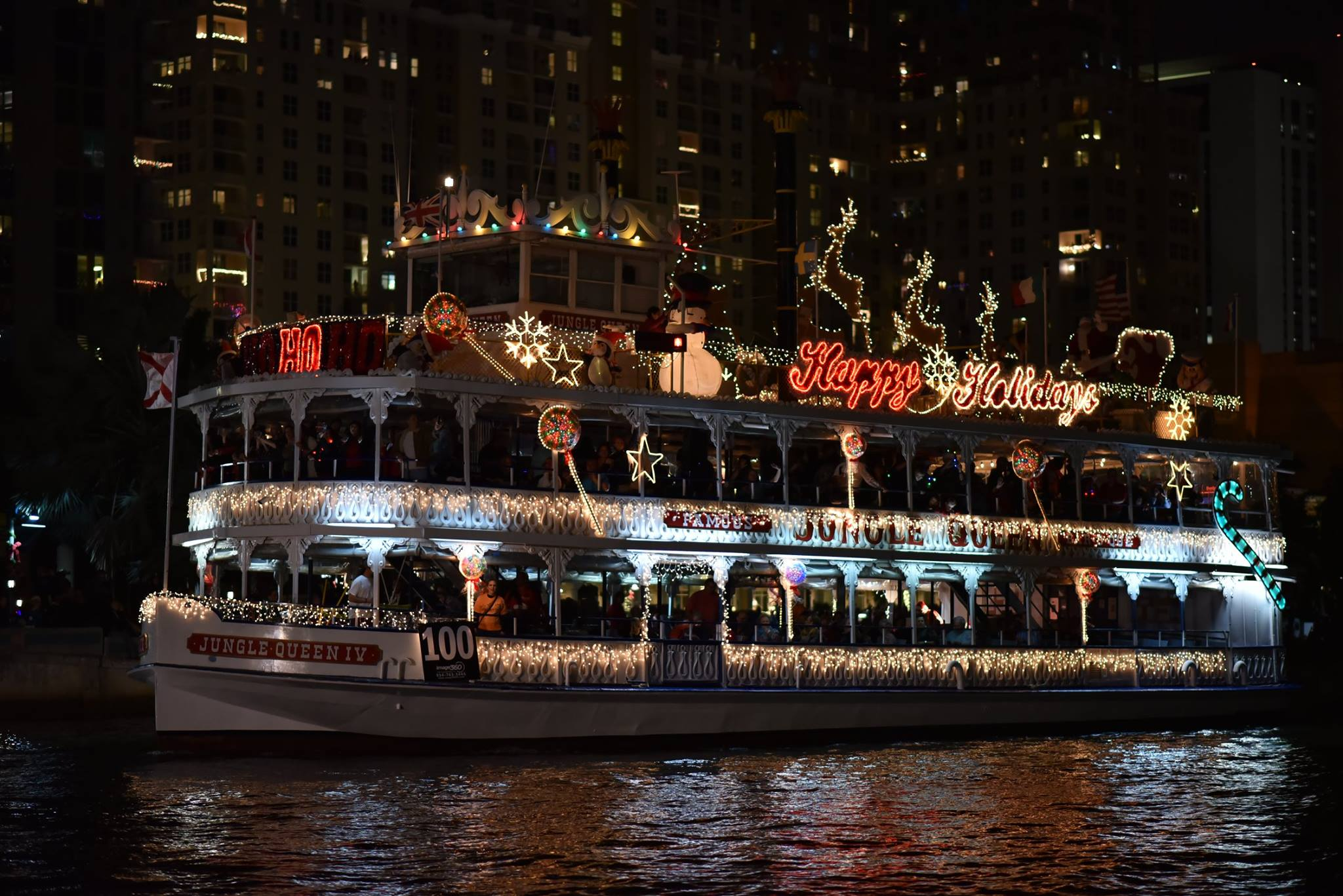 Fort Lauderdale Christmas Boat Parade.This Amazing Boat Parade Is The Perfect Way To Celebrate