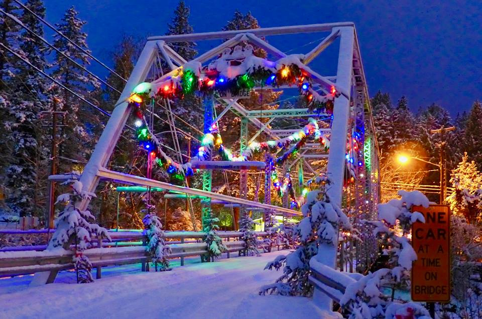 Bigfork Is A Magical Christmas Village In Montana