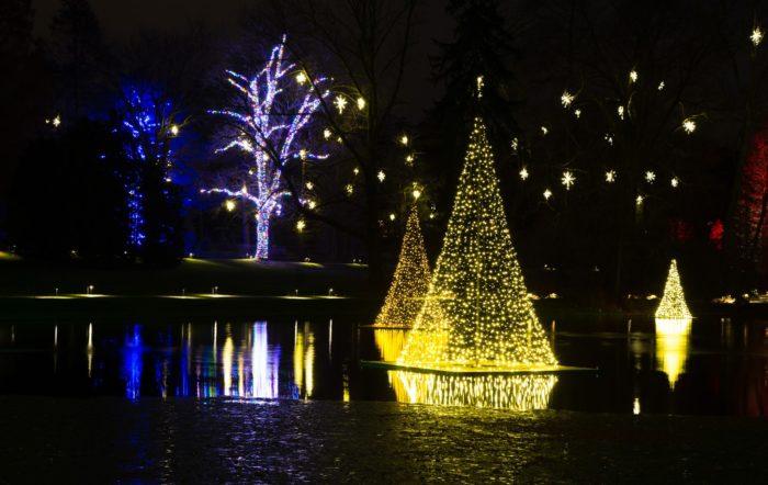 A Longwood Christmas Is Best Winter Lights Display Near