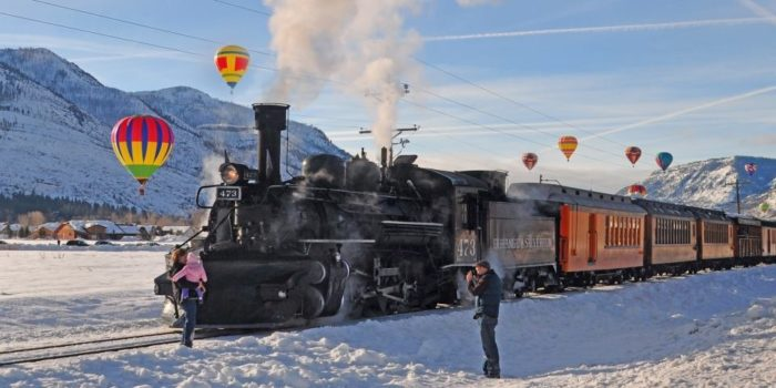The North Pole Train Ride In Colorado That Will Take You
