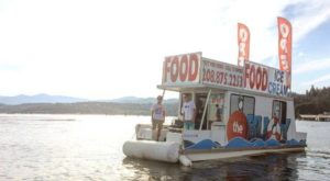 There's A Floating Boat Restaurant In Idaho And It's Just As Cool As It Sounds