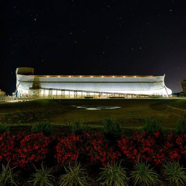 Ark encounter in kentucky will light up for the holidays for Ark holidays llp