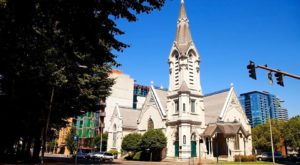 The Historic Church Hiding In Portland That Is An Absolute Work Of Art