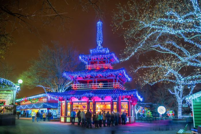 Admire The Lights As You Explore The Winter Wonderland. The Kennywood  Holiday Lights Show At The Lagoon Kicks Off Every Half An Hour Beginning At  6 P.m. The ...