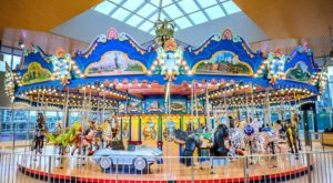 Take A Ride On Cincinnati's Very Own Whimsical Carousel
