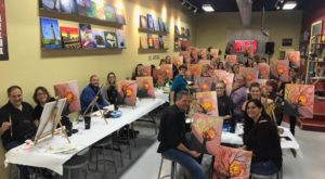 9 Painting And Wine Classes Around Buffalo Where You're Guaranteed To Have Way Too Much Fun