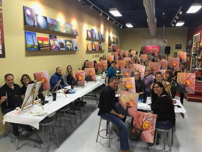 9 best paint night classes near buffalo