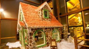 Your Family Will Love a Chance to Visit this Giant Edible Gingerbread House in Wisconsin