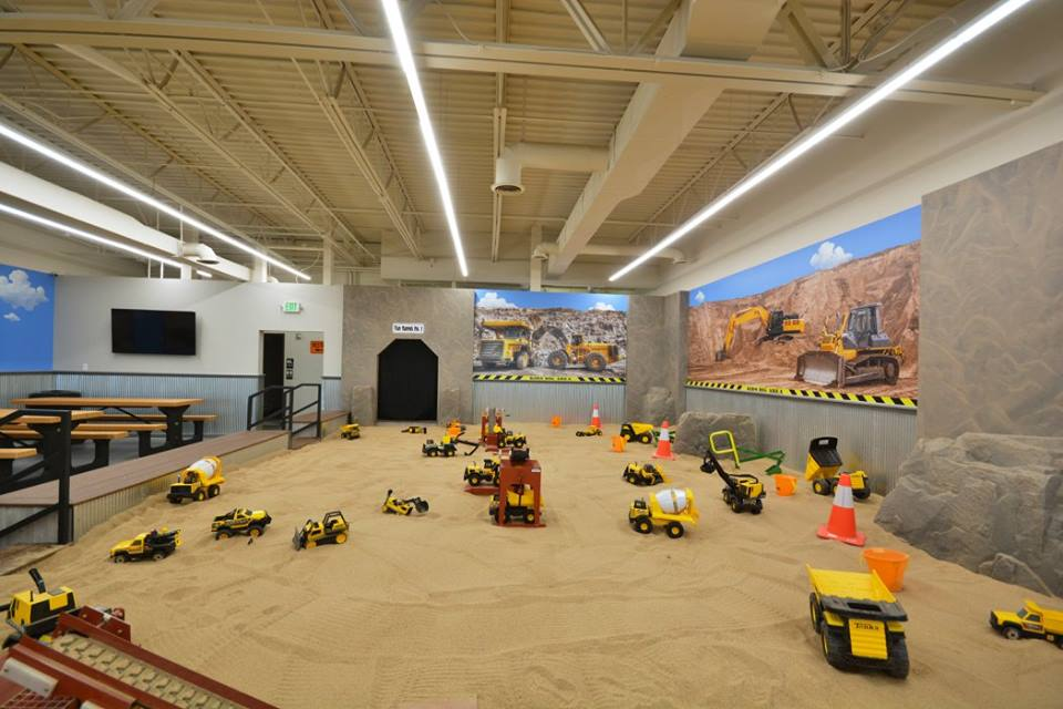 this new giant indoor sandbox in colorado is sure to bring