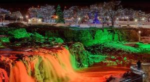 The Enchanting Urban Waterfall That Everyone In South Dakota Should Visit