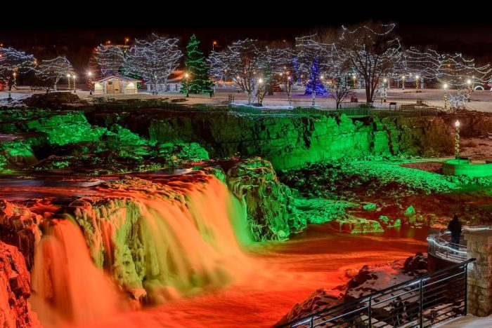 Sioux Falls The Enchanting Urban Waterfall That Everyone