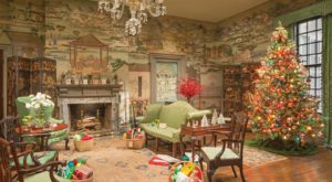 Tour This Popular Delaware Mansion For An Unforgettable Old-Fashioned Christmas