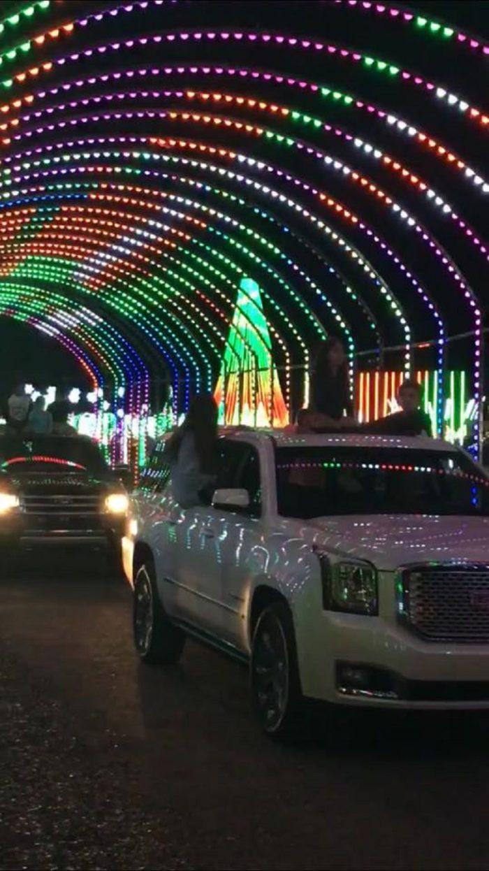 The Largest Drive-Thru Light Show In Arizona Is Spectacular
