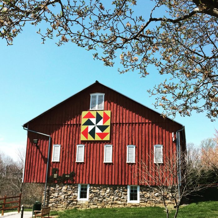 This Barn Quilt Trail In Maryland Is Picture Perfect For