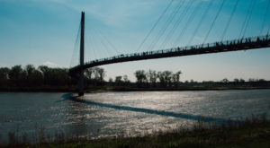 The Stomach-Dropping Suspended Bridge Walk You Can Only Find In Nebraska