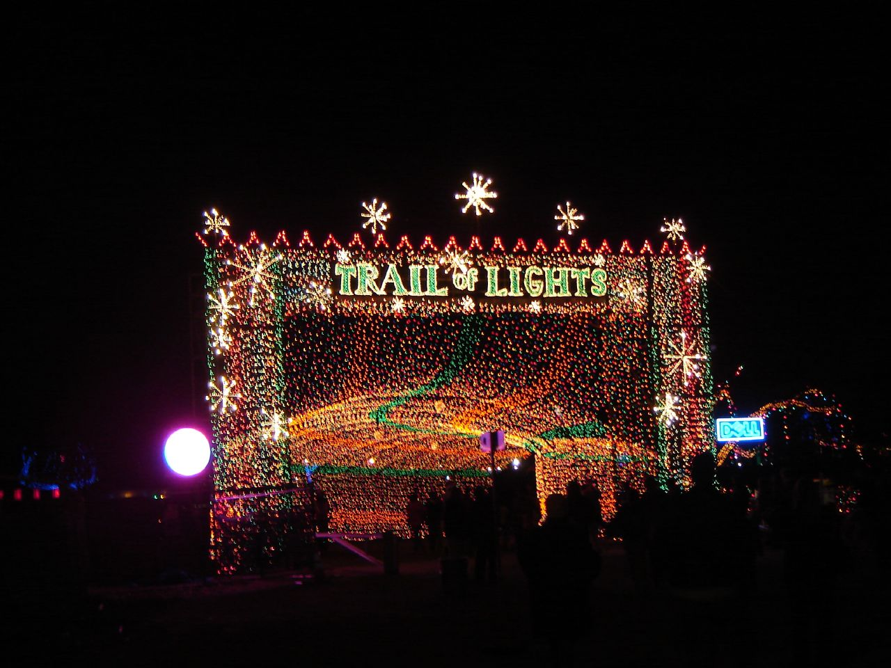 Trail Of Lights Is The Best Walk Through Christmas Light