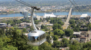 This Epic Portland Tour Takes You On A Trolley, Train, And Tram All In One Day