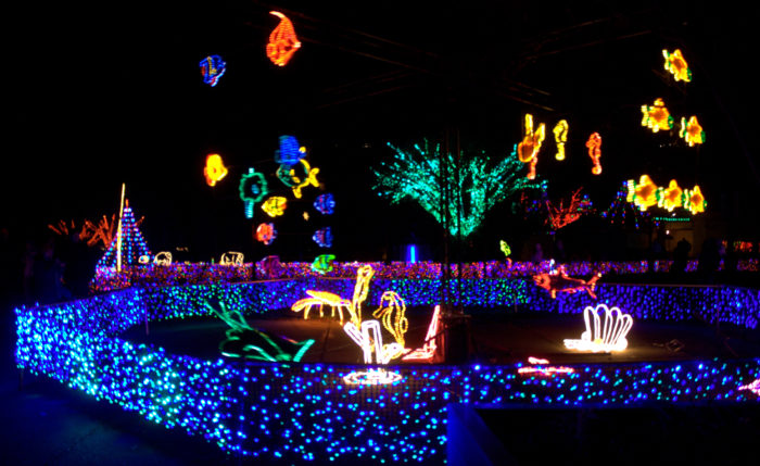 1. Oregon Zoolights - 7 Magical Light Displays In Portland That Will Simply Mesmerize You