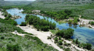 This Texas River Is So Remote That The Campsites Are Only Accessible By Boat