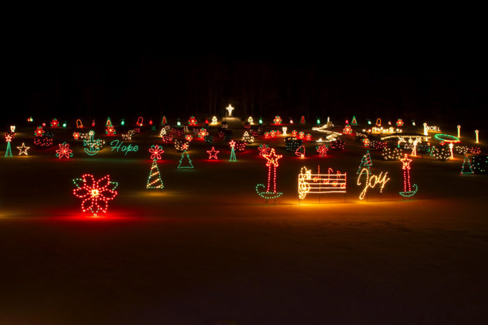La salette shrine in enfield has the best christmas lights for New hampshire motor speedway christmas lights