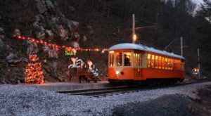 Board This Beautiful Holiday Trolley In Pennsylvania For An Unforgettable Adventure