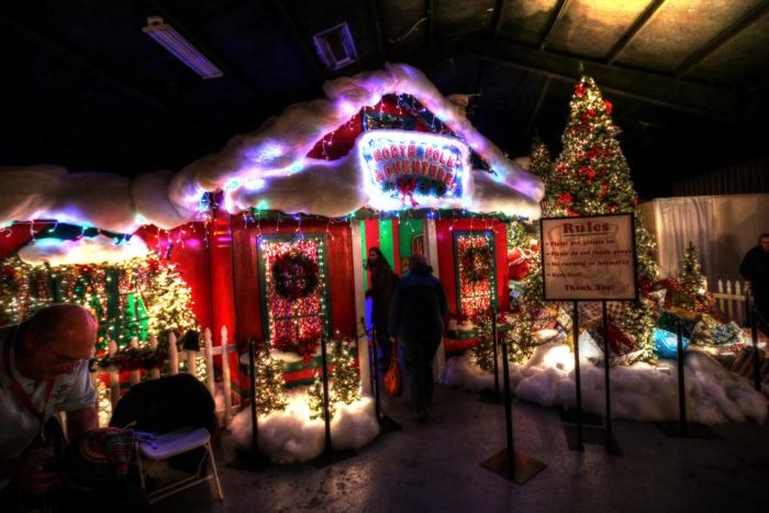 The Christmas Village In New York That Becomes Even More