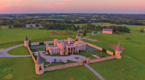Kentucky's Very Own Castle Is Now A Restaurant. Step Inside And Take A Look.