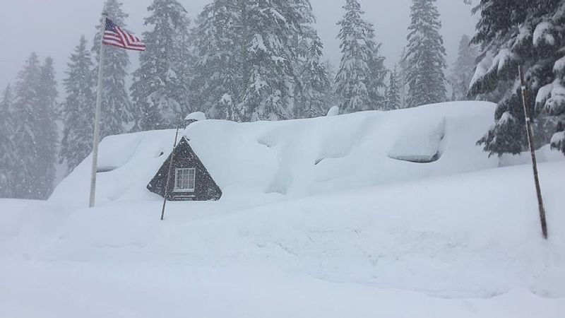 A Massive Blizzard Blanketed Oregon In Snow Last Year And
