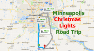 The Christmas Lights Road Trip Around Minneapolis That's Nothing Short Of Magical