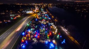 The Magical Illinois Garden That Comes Alive With Light Each Winter