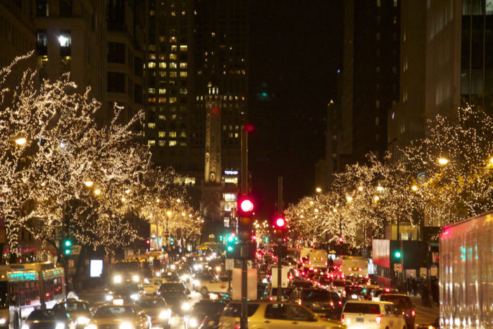 The Beautiful Christmas Lights Road Trip To Take In Chicago