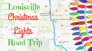 The Christmas Lights Road Trip Around Louisville That's Nothing Short Of Magical