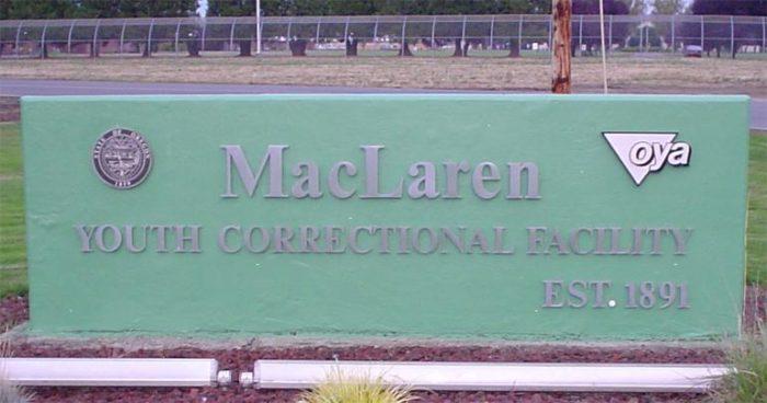 MacLaren sign 700x368 Coffee Creek Correctional Facility Inmates List