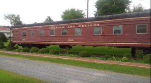 Spend The Night In A Converted Railcar For A One-Of-A-Kind Experience In Virginia