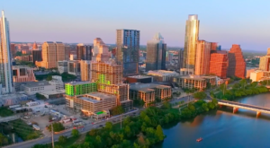 Someone Flew A Drone High Above Austin And Captured The Most Breathtaking Footage