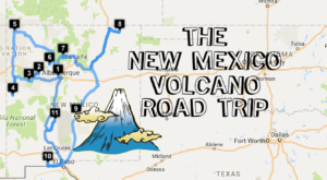Take This Epic Road Trip To See The 11 Volcanoes That Shaped New Mexico