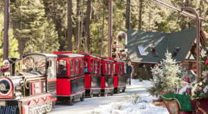 The North Pole Train Ride In Southern California That Will Take You On An Unforgettable Adventure