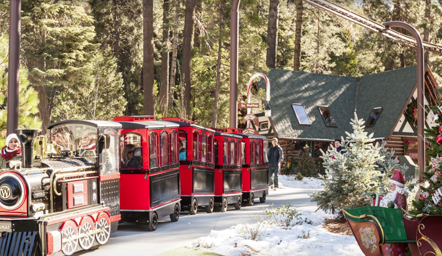 The North Pole Train Ride In Southern California That Will