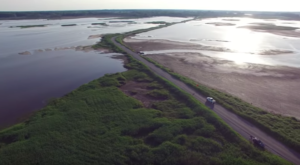 A Drone Flew Over Rural Delaware And Captured Mesmerizing Footage