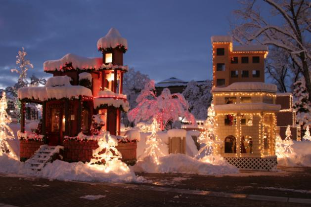 North Pole Christmas Lights