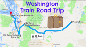 This Dreamy Train-Themed Trip Through Washington Will Take You On The Journey Of A Lifetime