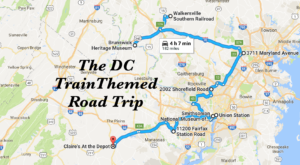 This Dreamy Train-Themed Trip Around DC Will Take You On The Journey Of A Lifetime