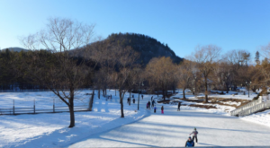 The Amazing Natural Ice Skating Rink In New Hampshire You'll Want To Visit